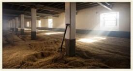 Laphroaig Malting Floor