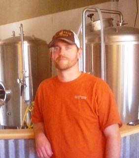 Wild Earth's owner/Brewmaster Dave Kilgour