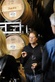 L'Ecole winemaker Martin Clubb, preaching the Gospel of wine