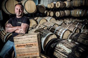Anchorage Brewing's Gabe Fletcher