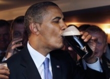 Even the Pres likes a good Stout