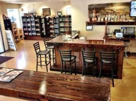 Indio's user-friendly tasting room