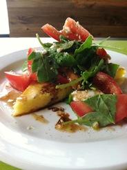 DiFranco's sublime Italian Tomato & Polenta Salad
