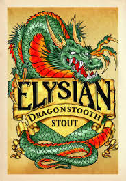 "Elysian's ""Dragonstooth"" label: great artwork is NOT cheap"