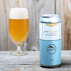 "Airways Brewing ""Pre-Flight"" Pilsner: 2014 GABF Silver Medal Winner"