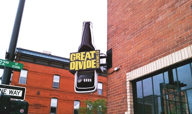 Photo of Great Divide Brewery by brewingsomefun.com