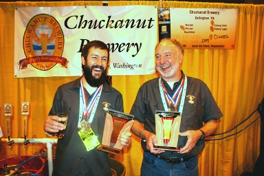 Josh Pfriem (Now of pFriem Family Brewers) with the master, Wil Kemper