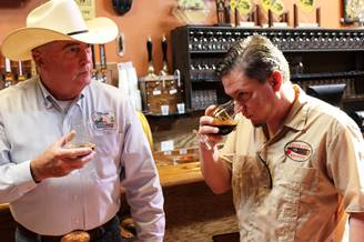 Cigar City brewmaster Wayne Wambles (r), on the scent of new wonders