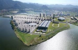 Rio's Proposed Olympic Park, clearly involved intimately with water