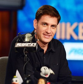 Everyone's favorite germaphobe, Mike Greenberg (Photo by Joe Faraoni / ESPN Images)