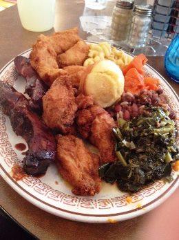 Thurm's Soul Food Platter