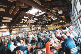 Taproom culture at Founders Brewing