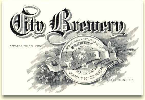 Weinhard's City Brewery graphic