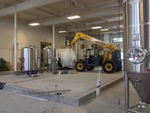 Build-out at Holy Mountain Brewing, Seattle