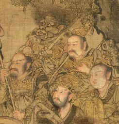 Wu-Daozi-the-Daoist-Official-of-Earth-Jin-Yuan-dynasty-detail